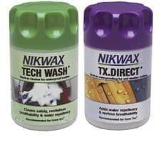Nikwax tech wash/tx direct wash-in twin pack